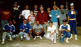 Circa 1988 when the DMS Softball team won trophies. Not sure where the beer mug came from but what-the-hell - winners can do whatever they want.