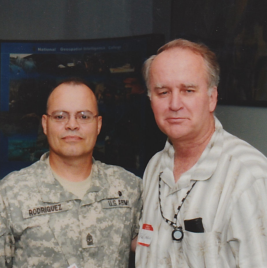 SGM Cecelio Rodriguez and SFC (Ret) Paul Jenkins