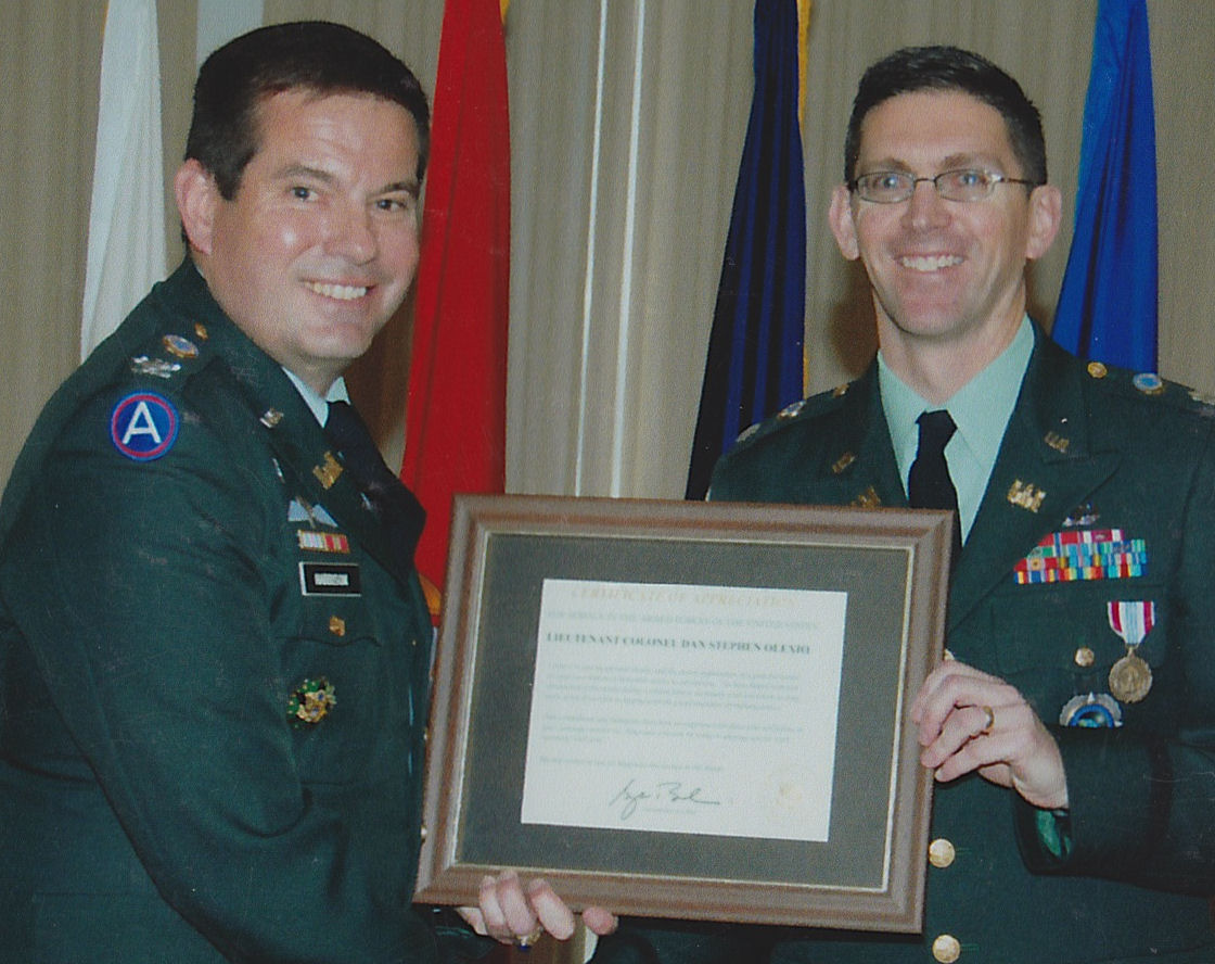 Col Harrison and LTC Olexio