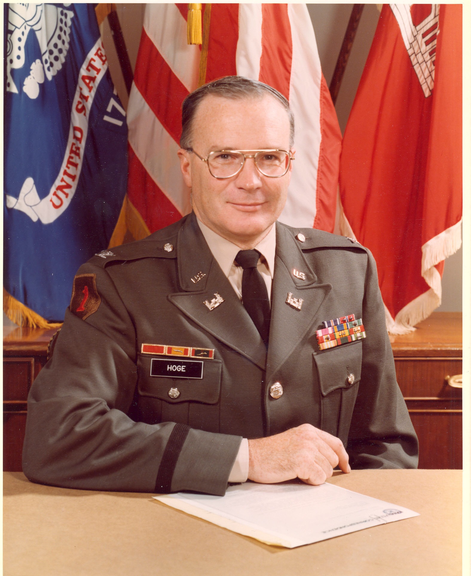 COL Philip R. Hoge Command & Director ETL 1977-1978